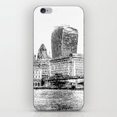 City of London Art Panorama iPhone & iPod Skin