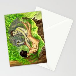 """The Haunted Man"" by Virginia McCarthy & Cap Blackard Stationery Cards"