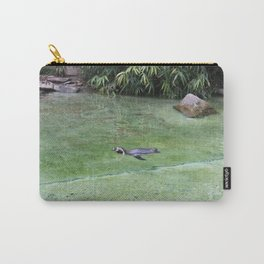 Swimming Penguin Carry-All Pouch