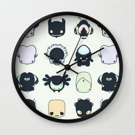 LittleMonsters Wall Clock