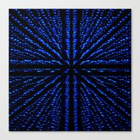 matrix Canvas Prints featuring Matrix by Armin