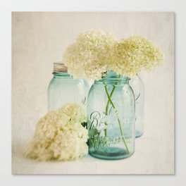 Hydrangea Whisper Canvas Print