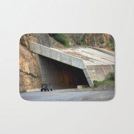Tunnel above Red Mountain Creek Bath Mat