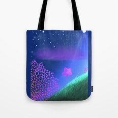 FLOWER IN THE WIND Tote Bag