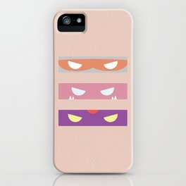 Teenage Minimal Ninja Baddies iPhone Case