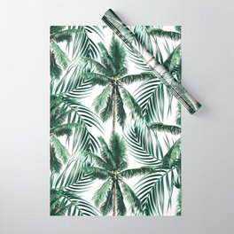 South Pacific palms Wrapping Paper