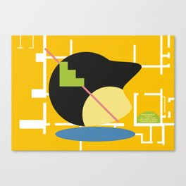 Postmodern fish 2 Canvas Print