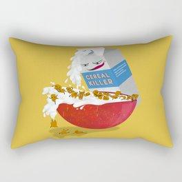 Cereal Killer Rectangular Pillow