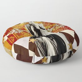 Cosmic Intelligence Floor Pillow
