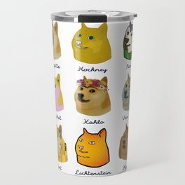A Brief History of Doge Artists Travel Mug