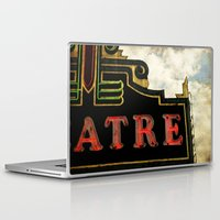 theatre Laptop & iPad Skins featuring Old Theatre by Massimiliano Bertozzi