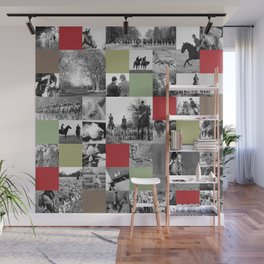 A slice of the English Life: Vale of the White Horse Hunting photo art Wall Mural