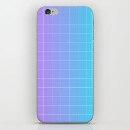 Vaporwave Gradient iPhone Skin