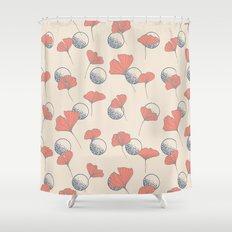 Delicate Ginkgo&Dots #society6 #decor #buyart Shower Curtain