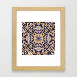 KALEIDSCOPE WANDERER Framed Art Print