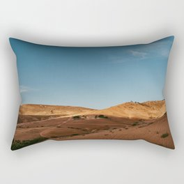 Morocco Atlas Mountains view - Moroccan photo print - travel photography  Rectangular Pillow