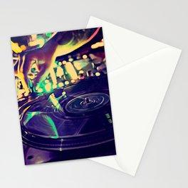At Nightclub Stationery Cards