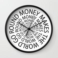 Money World Wall Clock