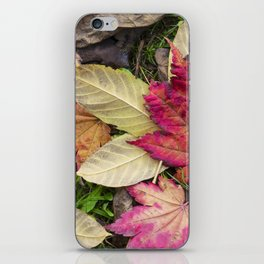 Leaf it out iPhone Skin