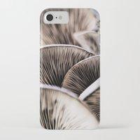 mushrooms iPhone & iPod Cases featuring Mushrooms by Kathy Dewar