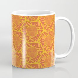 Orange Slice Radiation Coffee Mug