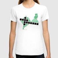 bauhaus T-shirts featuring Bauhaus Pattern by Addison Karl