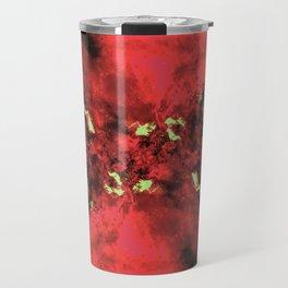 Watermelon Galaxy Travel Mug