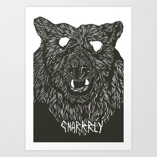Gnarly Art Print