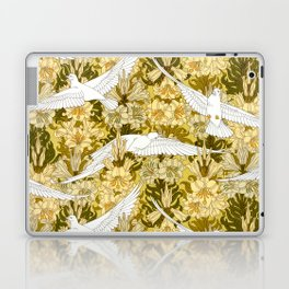 Doves and lilies Laptop & iPad Skin