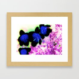 Artistic Flowers Framed Art Print