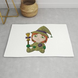 Little Witch Doll Rug