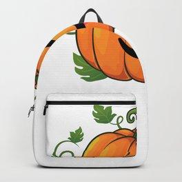 pumpkin tongueout Backpack