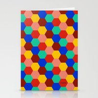 korean Stationery Cards featuring Korean Paving by KAOMAÏL