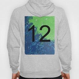 Blue & Green, 12, No. 2 Hoody