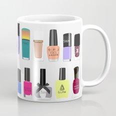 My nail polish collection art print Mug