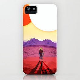 Kepler 16b iPhone Case