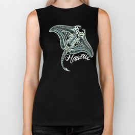 Hawaiian Tribal Ray Biker Tank