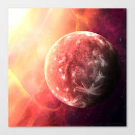 Planet Mercury Canvas Print