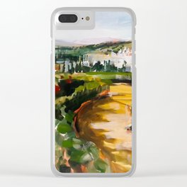 Gardens of La Alhambra Clear iPhone Case