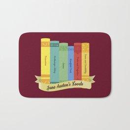 The Jane Austen's Novels IV Bath Mat