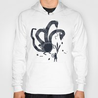 hydra Hoodies featuring hydra(dark) by Louis Roskosch