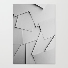 Sheets of Paper Canvas Print