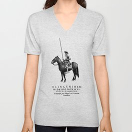 Don Quixote Unisex V-Neck