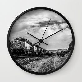 Eastbound Train Wall Clock