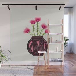 Floral vibes IX Wall Mural