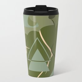 Gaping Triangles Metal Travel Mug