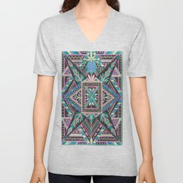Print or T-shirt, Burnish Your Street Cred Unisex V-Neck