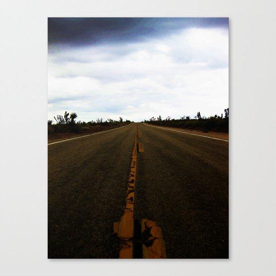 Deserted Road Canvas Print