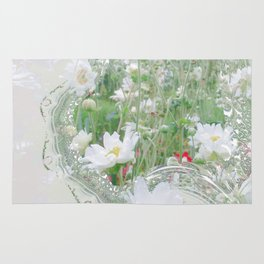 Framed Windflower Rug