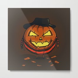 A Nightmare on Halloween Metal Print